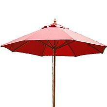 【紅豆戶外休閒傢俱】7尺印尼木傘 戶外休閒傘庭院傘咖啡傘大陽傘遮陽傘