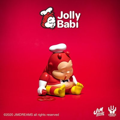 unbox jim dreams jolly babi chunk 小胖子 肥仔.