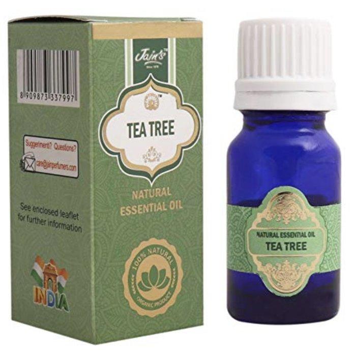 [綺異館]印度精油 茶樹 10ml JAIN'S TEA TREE 另售印度皂 印度香