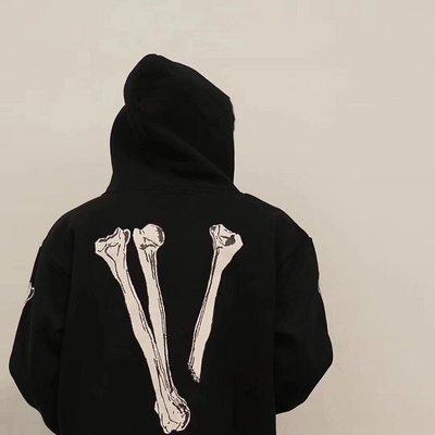 Vlone Halloween Skull Hoodie 萬聖節限定 骷髏連帽外套 衛衣