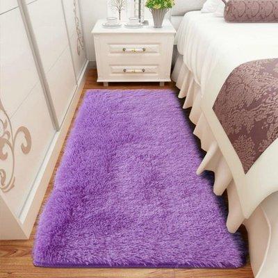 麥麥部落 臥室地毯滿鋪床邊毯床前可愛風風居居家用客廳茶幾長方形長毛地墊MB9D8