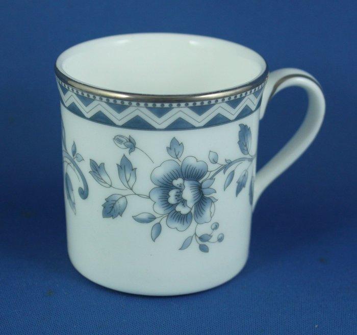 [美]ROYAL DOULTON濃縮咖啡杯(也可當中式茶杯).JOSEPHINE PLATINUM(彎杯)