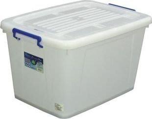 【彩虹小舖】KEYWAY 聯府 K801滑輪整理箱 多用途收納箱 置物櫃 整理櫃 85公升 彰化縣