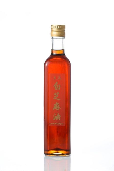 【三鳳】純白芝麻油500ml