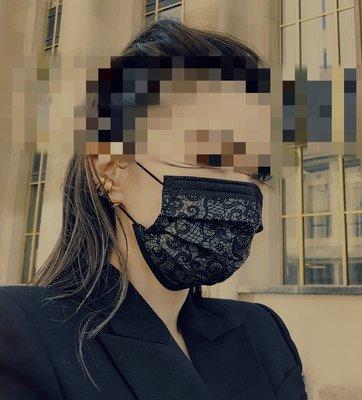 「2盒一組 現貨」 謝金燕 X中衛CSD 絕版聯名 姐姐蕾絲口罩 (非醫療)
