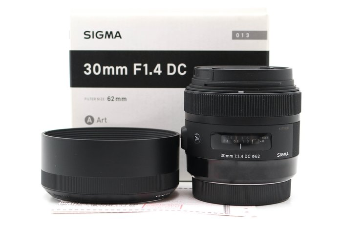 【台南橙市3C】SIGMA 30MM F1.4 DC HSM A ART FOR CANON 二手鏡頭#49068