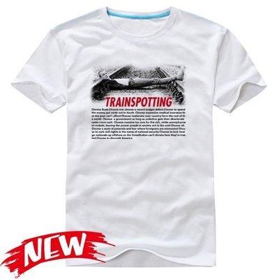 【猜火車 Trainspotting】短袖經典電影系列T恤(共18種款式可供選購) 任選4件以上每件400元免運費!