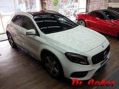 Dr. Color 玩色專業汽車包膜 M-Benz GLA180 類全景式天窗
