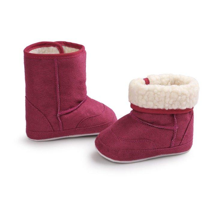 森林寶貝屋~桃紅休閒雪鞋~學步鞋~幼兒鞋~寶寶鞋~保暖鞋~嬰兒鞋~雪鞋~棉鞋~童鞋~粘扣設計~彌月送禮~特價
