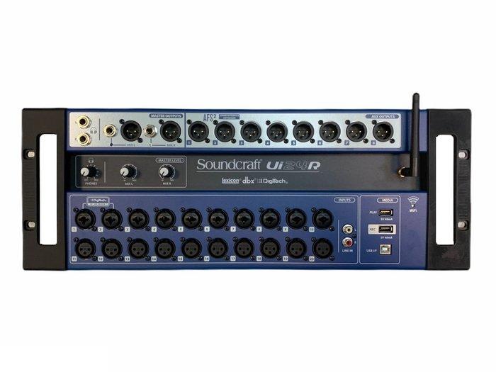 【昌明視聽】全新品 Soundcraft Ui24R Mixer 數位混音器
