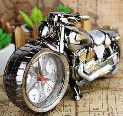 heavy°鋪 摩托模型靜音定時鬧鐘創意個性GW125