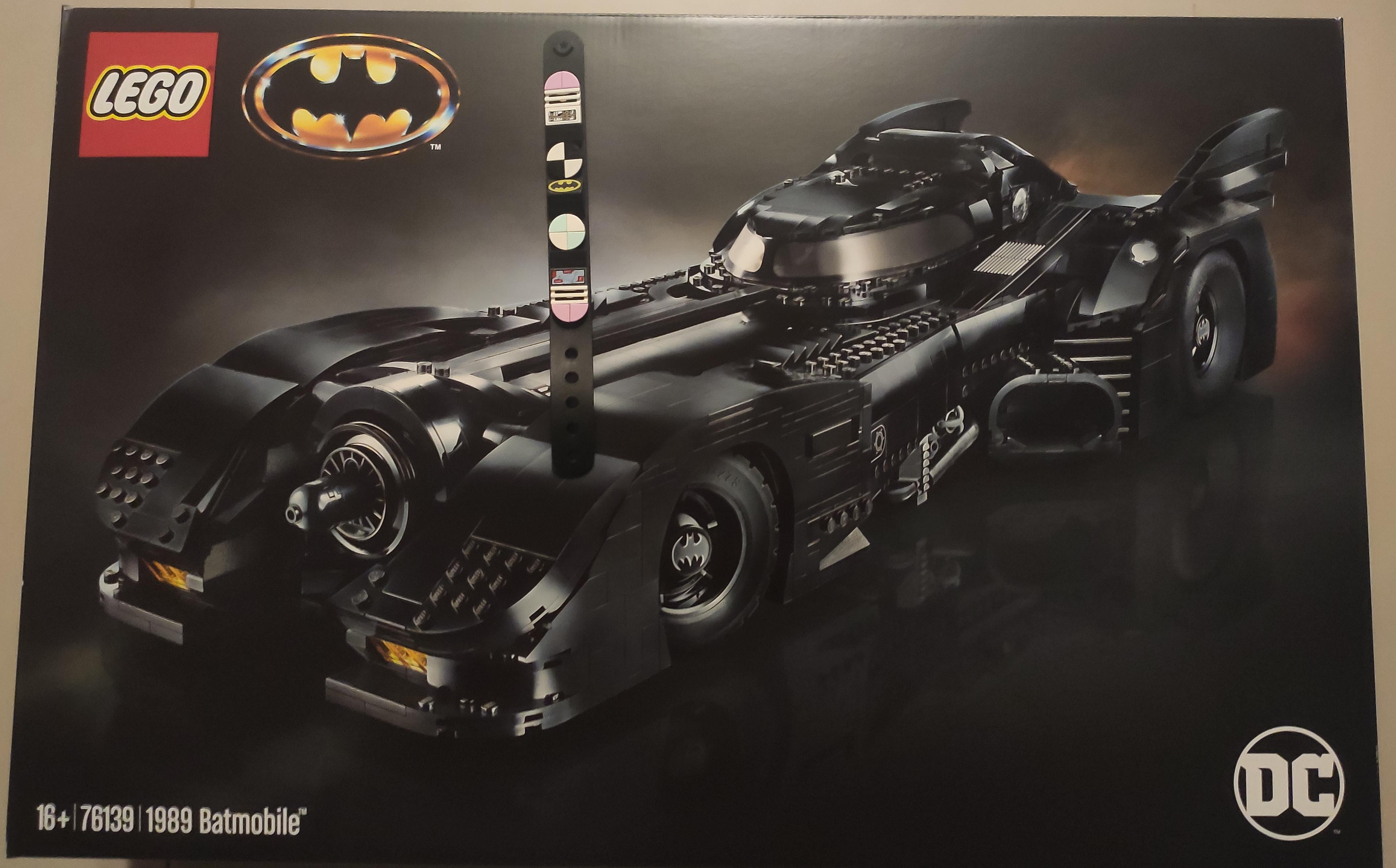 現貨 公司貨 樂高1989蝙蝠車 76139 LEGO 1989 BATMOBILE