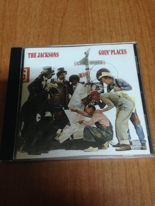 THE JACKSONS Goin Places  麥可傑克森 MICHAEL JACKSON
