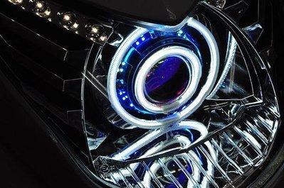 【龍昌機車材料精品】GMS嘉瑪斯 二代新勁戰專用 M6S 合法認證大燈 魚眼