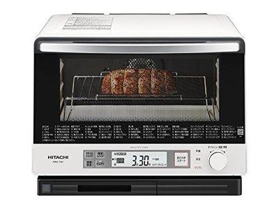 HITACHI  MRO-TW1 30L 烤箱 微波 二段料理 二段加熱 日立 水波爐 MRO-SBK1