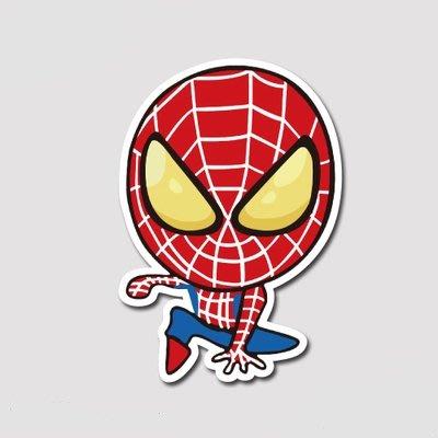 【SPSP】蜘蛛人-C 3M貼紙 防水貼紙 防曬貼紙 機車貼紙 汽車貼紙 旅行箱貼紙 筆電貼紙 車身貼紙 玻璃貼紙
