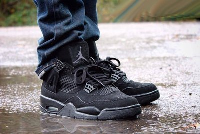 "Air Jordan 4 ""Black Cat"" 全黑 黑貓 百搭 短筒 籃球鞋 CU1110-010"