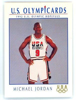 真1元》超少見Michael Jordan Impel奧運USA夢幻一隊  MJ