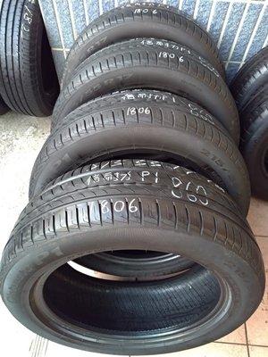 215 55 R 17 倍耐力 P1 18年製造 二手 中古 輪 胎 一輪1600元