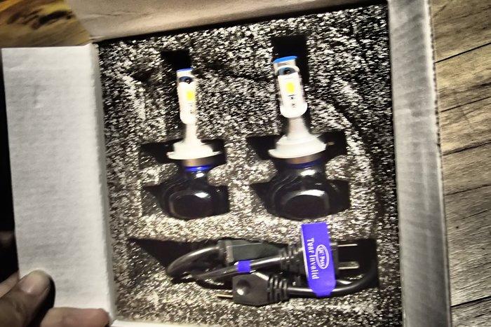 DJD19092407全新LED大燈燈泡H1 H4 H7 H11 9005 9006 規格K13 X-TRAIL