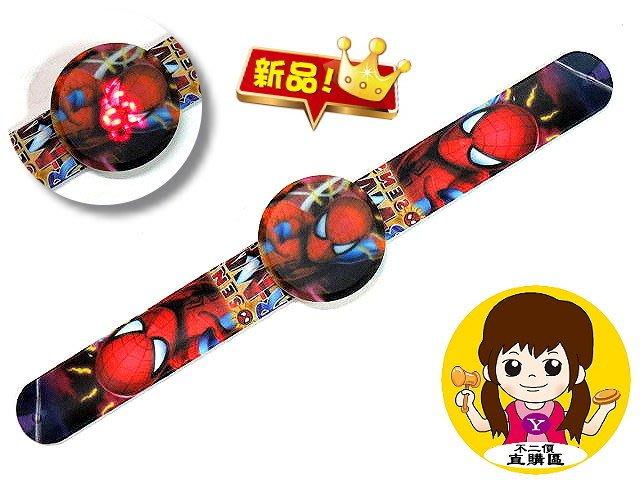 【 金王記拍寶網 】B010   LED果凍觸控錶 兒童錶 流行可愛  蜘蛛人 / 卡通 / 男婊 / 女錶