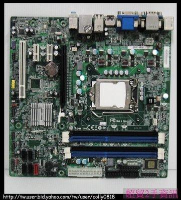 超貿2手資訊 ACER M4610 Q65H2-AM V1.1 /DDR3/PCI-E/SATA/1155-保固1個月