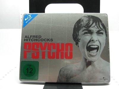 【正版BD】Psycho - Limited Quersteelbook(驚魂記)德版.鐵盒版.有中文字幕