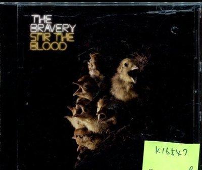 *真音樂* THE BRAVERY / STIR THE BLOOD 二手 K16547 (殼破)