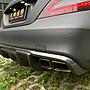 【天翊國際】BENZ W218 CLS400 小改款 R款 碳纖維 後下巴