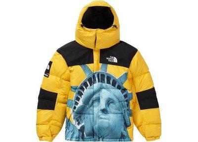 「Rush Kingdom」代購 Supreme TNF Baltoro Jacket 羽絨外套 自由女神