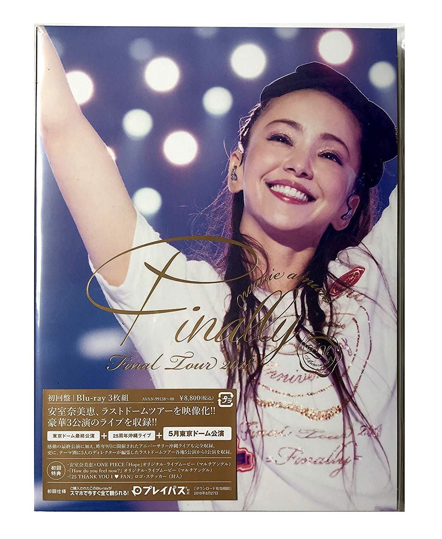 初回盤 安室奈美惠 namie amuro Final Tour 2018 Finally 日版 東京+東京+沖縄 BD