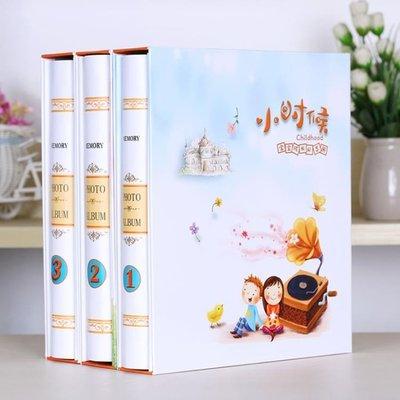 相冊本5寸過塑6寸7寸插頁式200張兒童寶寶成長家庭影集紀念冊七寸