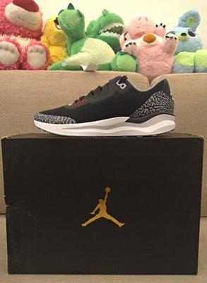 全新正品 JORDAN ZOOM TENACITY 88 黑水泥 爆裂紋 三代 經典 跑步鞋
