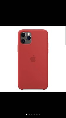 Apple iPhone 11 Pro Max 矽膠保護殼 - (PRODUCT)RED 原廠公司貨