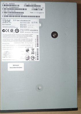 IBM磁帶機SAS介面LTO-3 Tape drive 46X5659 Ultrium 3-H HH V2磁帶驅動器
