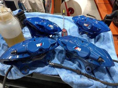 BMW M power原廠前四後二卡鉗碟盤 M2新車行駛6000公里拆下
