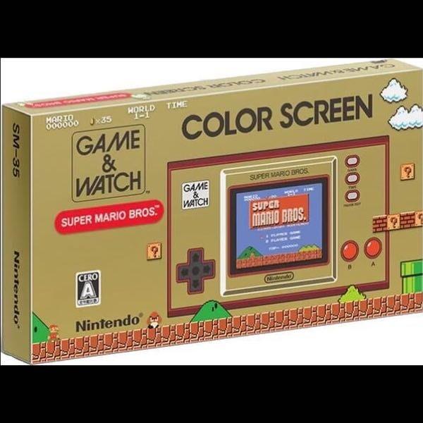 [BoBo Toy] 預購 純日版 任天堂 GAME&WATCH 超級瑪利歐兄弟 英文介面 11/13發售