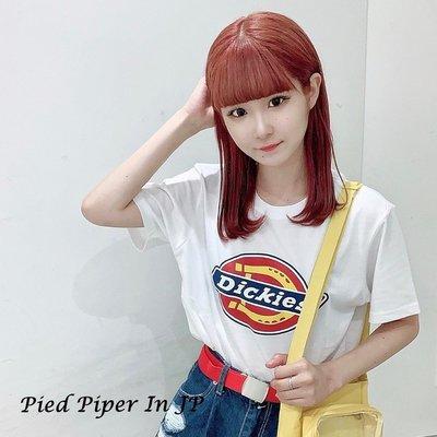 Pied Piper日本代購 BO125 Dickies情侶款定番LOGO短袖T恤
