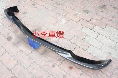 ~李A車燈~新品 外銷精品 賓士 BENZ W204 C300 AMG GH版本 碳纖維 卡夢前下巴 6500元