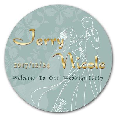 【繪盈設計】婚禮logo板、婚禮背板、婚宴、婚紗背板、婚禮小物、婚禮佈置、尺寸120X120公分-下標頁面