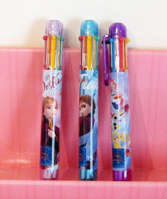 【快樂童年精品】正版授權~~ 冰雪奇緣2  6色原子筆 (隨機出.單支價)