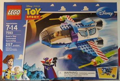 MISB LEGO Toy Story - Buzz's Star Command Spaceship (7593)