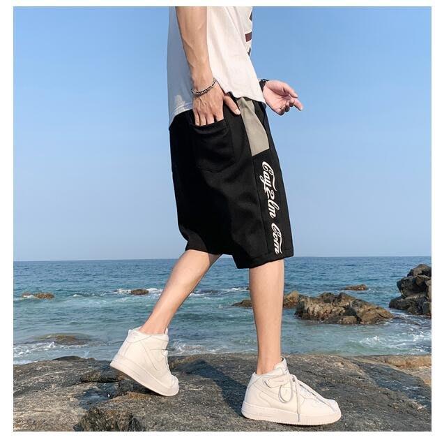 FINDSENSE X 薄款 休閒工裝 短褲 多口袋 短褲多袋 速幹運動男式短褲