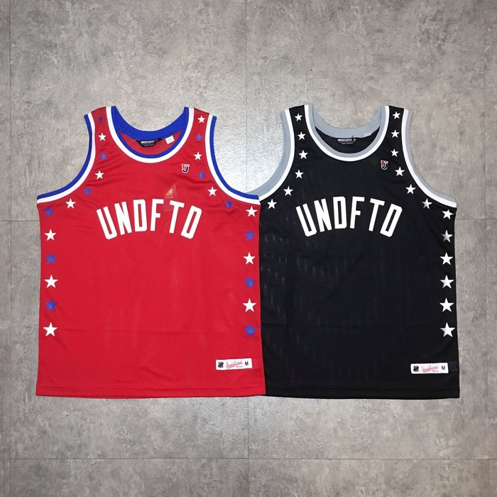 【Faithful】Undefeated GLOBAL MESH TANK 背心 【UNDFTD_TEE25】黑/紅