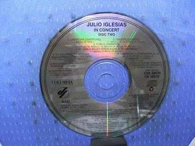 [無殼光碟]E  Julio Iglesias  IN CONCERT CD2
