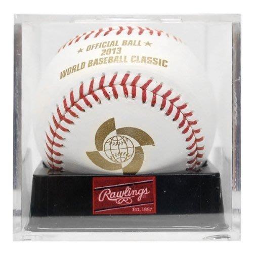 貳拾肆棒球-日本帶回2013WBC世界經典賽正式賽實際比賽球/Rawlings典藏版
