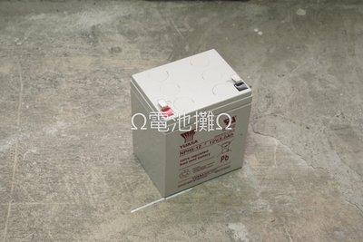 Ω電池攤Ω高雄·產業電池(VRLA)·YUASA NPH5-12_ 高率型