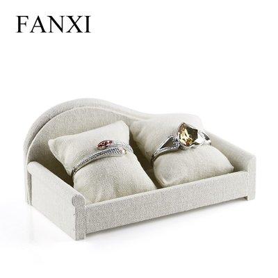 衣萊時尚-FANXI麻布沙發2位手錶展...