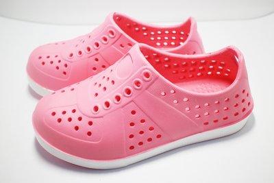 ✬Candy童鞋✬ 兒童洞洞鞋 超輕量防水 涼鞋 布希鞋 園丁鞋 拖鞋 外出鞋 女童 ROOSTER 現貨