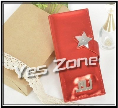 Yes Zone 偶像精品 炫彩銀包 JYJ 東方神起 金在中 朴有天 金俊秀 紅色 清貨價$45包郵